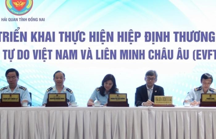Hải quan Đồng Nai hỗ trợ doanh nghiệp thực hiện EVFTA để vực dậy sản xuất