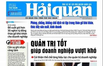 Những tin, bài hấp dẫn trên Báo Hải quan số 31 phát hành ngày 12/3/2020