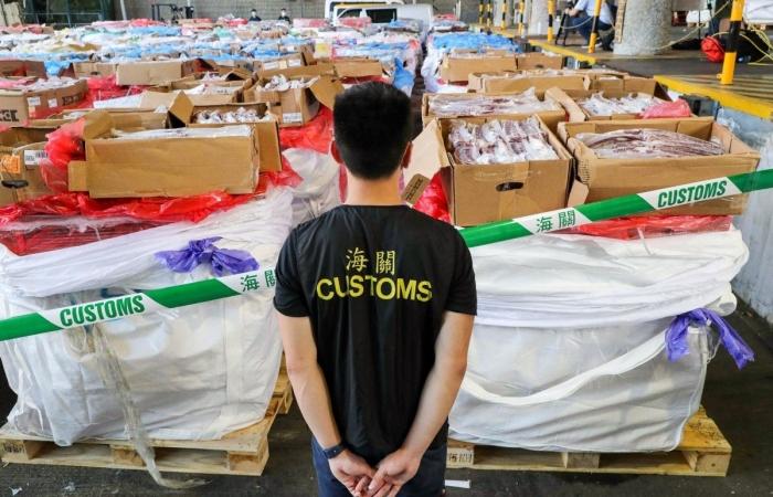Hải quan Hồng Kông triệt phá đường dây buôn lậu thịt