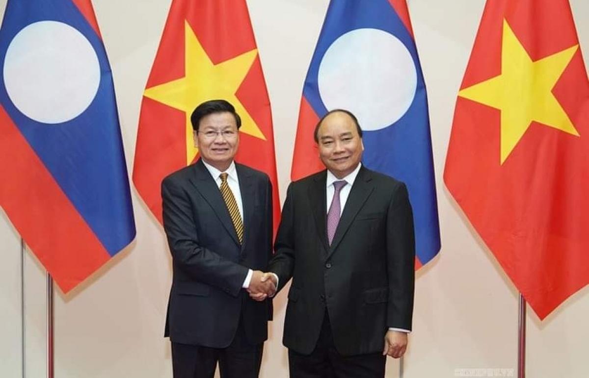 Hôm nay, Thủ tướng Việt Nam-Lào chủ trì Kỳ họp Ủy ban Liên Chính phủ hai nước