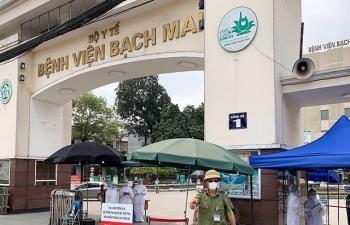 Hơn 5.000 mẫu xét nghiệm tại Bệnh viện Bạch Mai cho kết quả âm tính