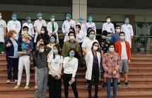 30 bệnh nhân mắc Covid-19 được công bố khỏi bệnh