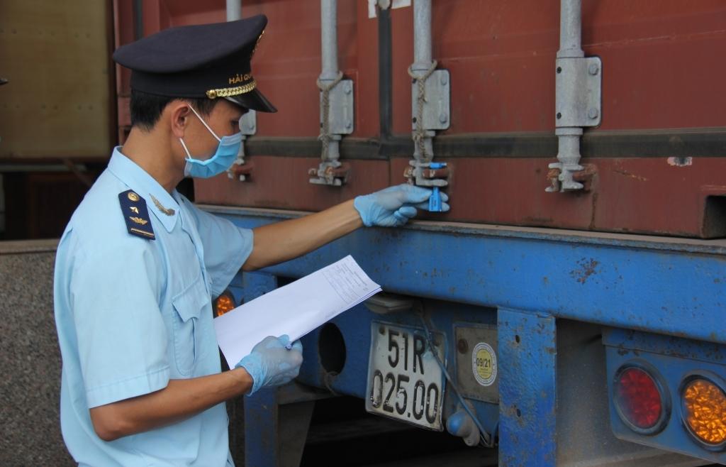 """Xử lý ra sao khi doanh nghiệp thay đổi """"số container"""" trong tờ khai vận chuyển độc lập?"""